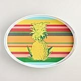 Pineapple Stripe Serving Tray ($20)