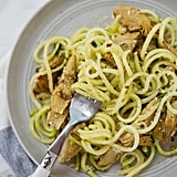 Lemon-Parmesan Courgette Noodles