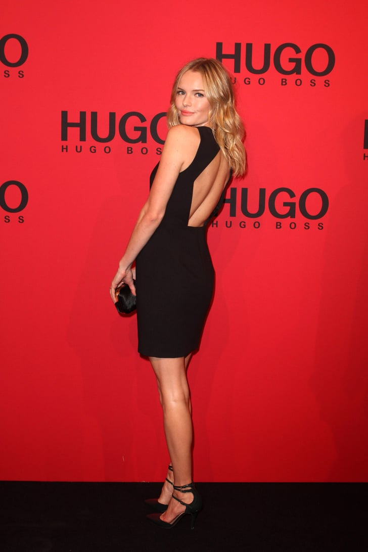 Kate Bosworth posed on the Hugo by Hugo Boss show red ...