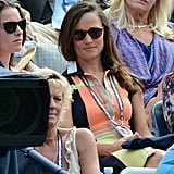 Pippa looked chic in her Rosewood Bosworths sunglasses from Finlay & Co.