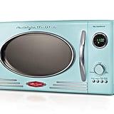 Nostalgia RMO4AQ Retro 800-Watt Countertop Microwave Oven