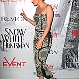 Kristen Stewart attended a Snow White and the Huntsman premiere.