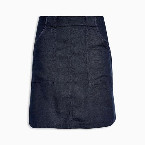 Linen Blend Skirt ($32)