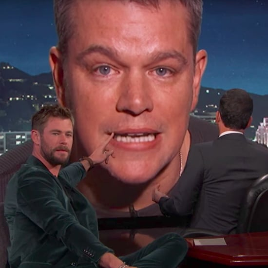 Matt Damon and Chris Hemsworth on Jimmy Kimmel Live Video