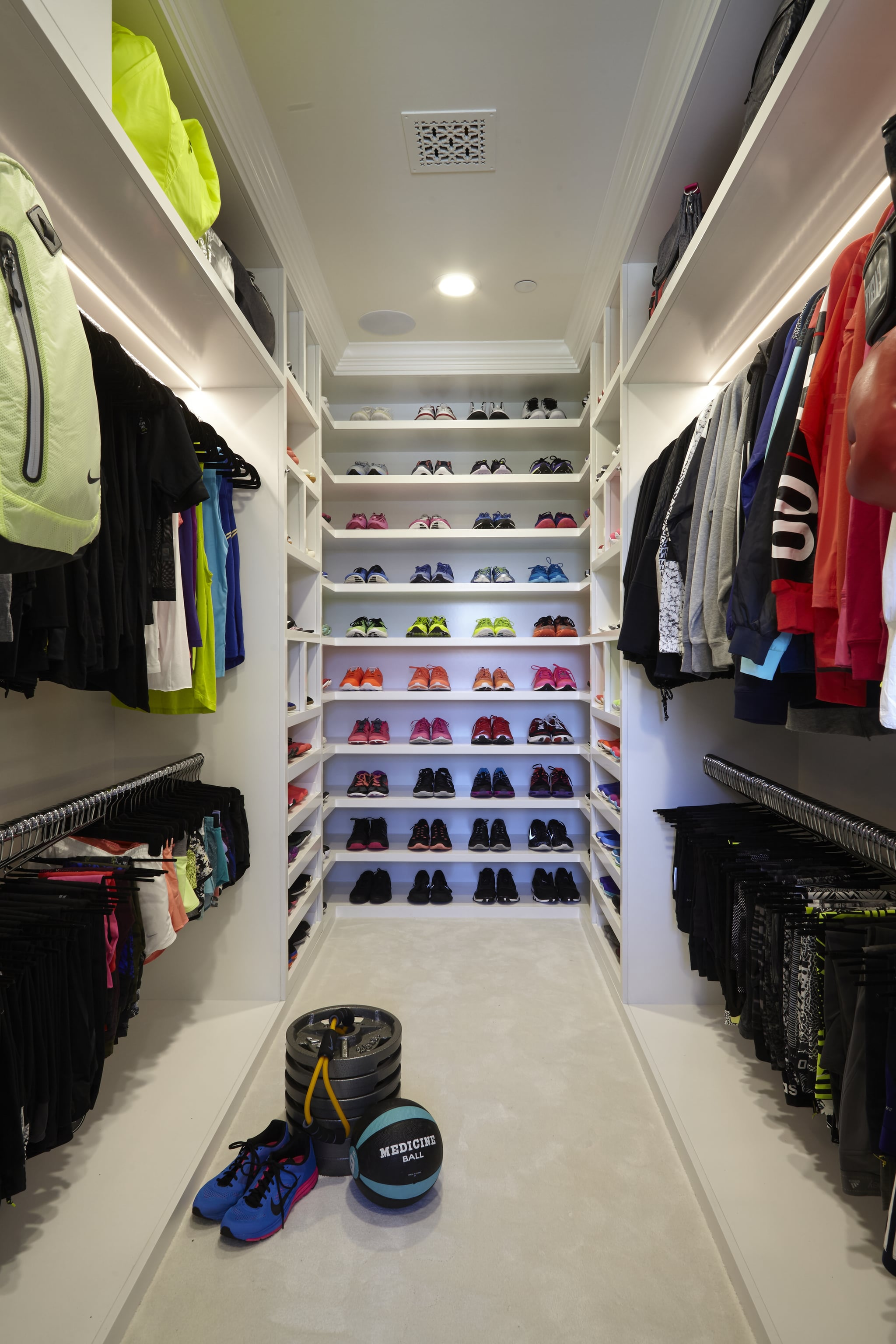 Khloe Kardashian Workout Shoe Collection