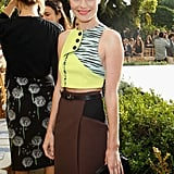 Kate Bosworth had a ring on her ring finger at the CFDA party in LA.