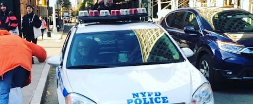 NYPD Officer Singing Backstreet Boys Over Intercom Video