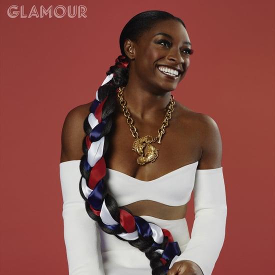 Simone Biles Talks Beauty Experimentation With Glamour