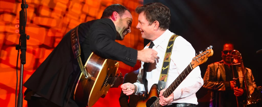 Michael J. Fox Plays the Guitar With Dave Matthews