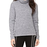 J Brand Gray Zhou Turtleneck Sweater