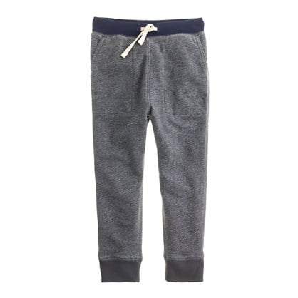 J. Crew Boys' Slim Slouchy Sweatpants