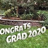 Congrats Grad Yard Sign Letters