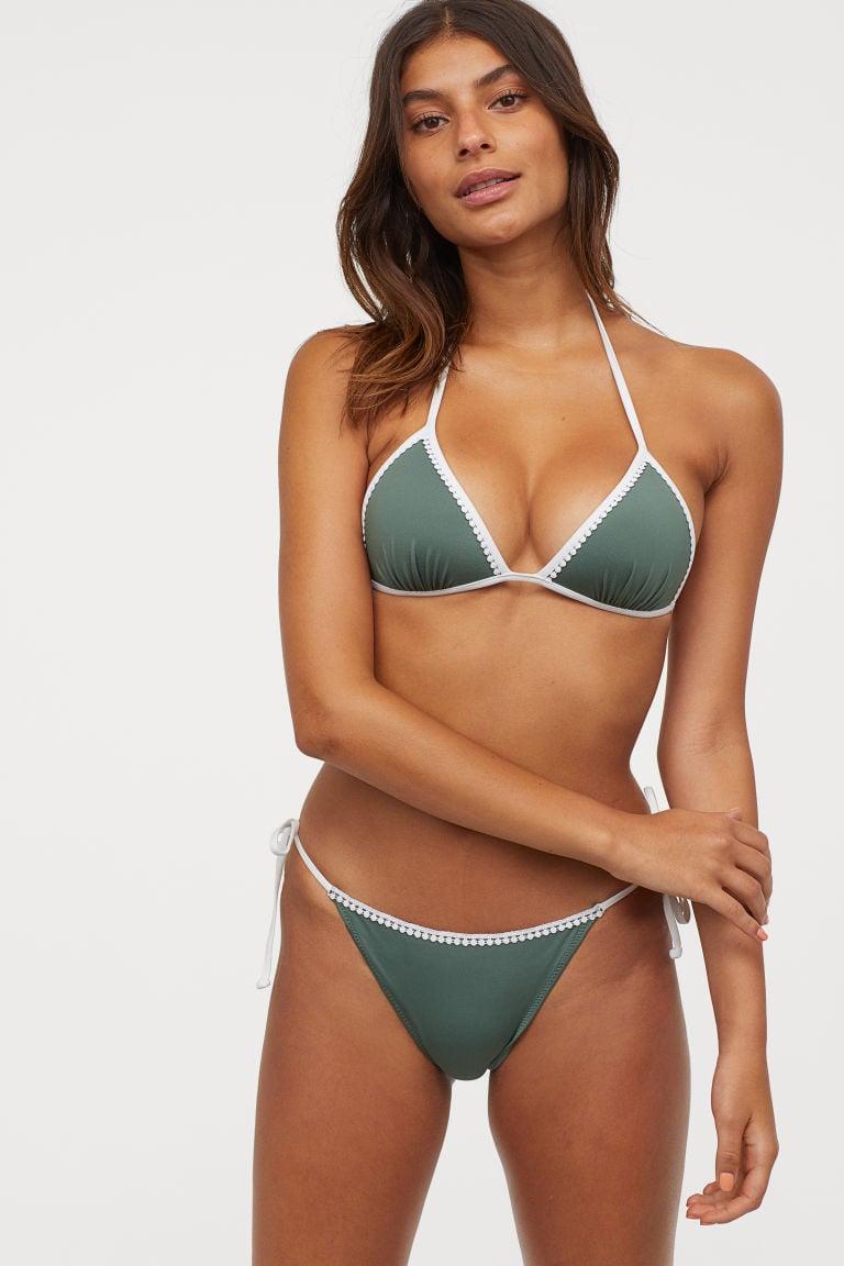 heißer verkauf billig klassischer Chic gutes Geschäft H&M Push-up Triangle Bikini Top and Bottom | H&M's 20 ...