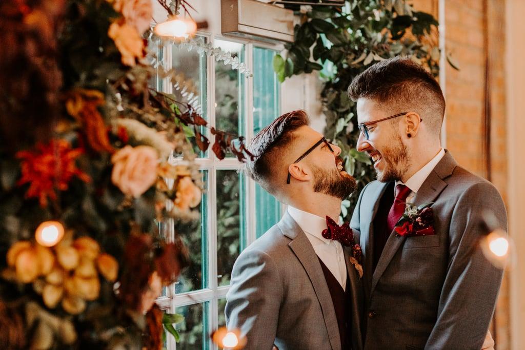 Modern-Industrial Fall Wedding in San Diego