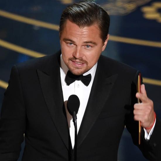 Leonardo DiCaprio Oscar Acceptance Speech 2016
