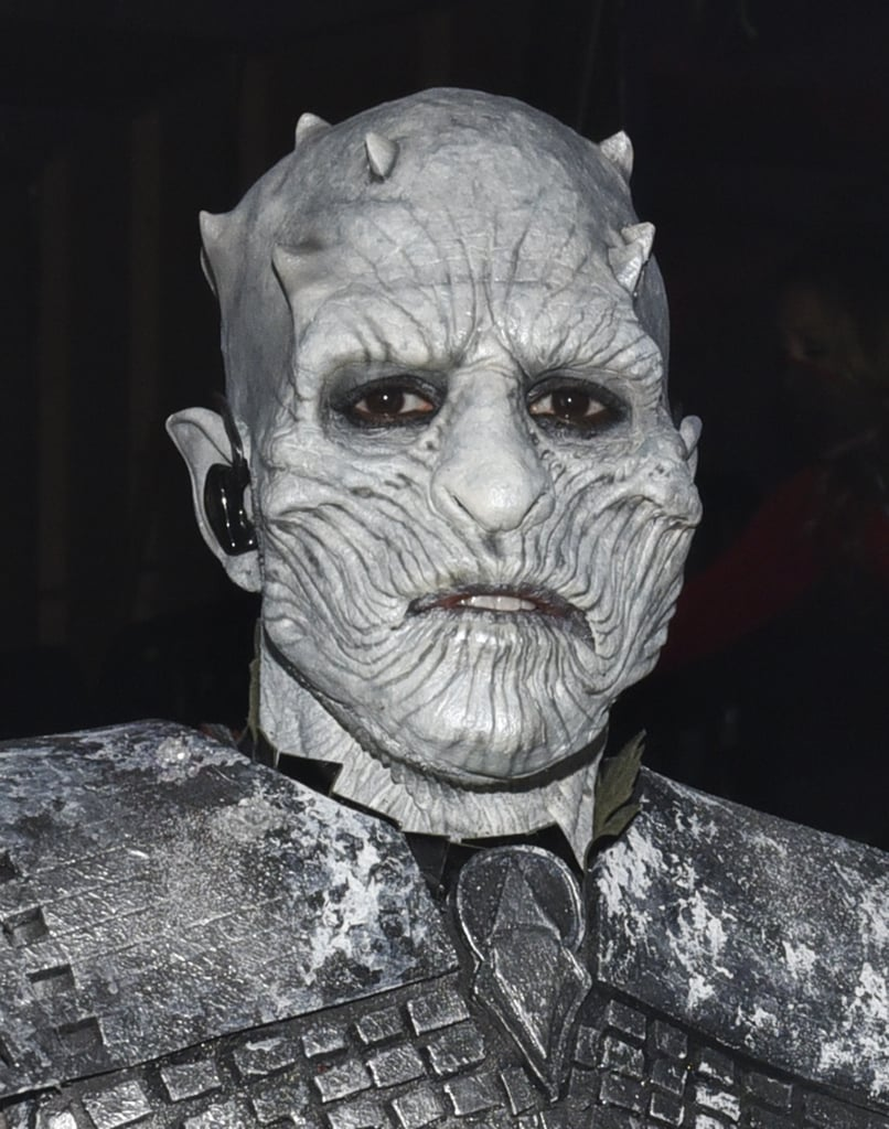 "Jason Derulo is known for his irresistible hotness, but the ""Talk Dirty"" singer was truly frightening when he performed a melody of his hits dressed up as Game of Thrones' Night King at Maxim's Halloween party in LA on Saturday. The 28-year-old completely transformed into the terrifying leader of the White Walkers using prosthetics, body armour, and ghastly makeup, and if we had to vote, we'd say Jason just won Halloween with his spot-on costume. Read on to see more photos of Jason as the Night King . . . if you dare."