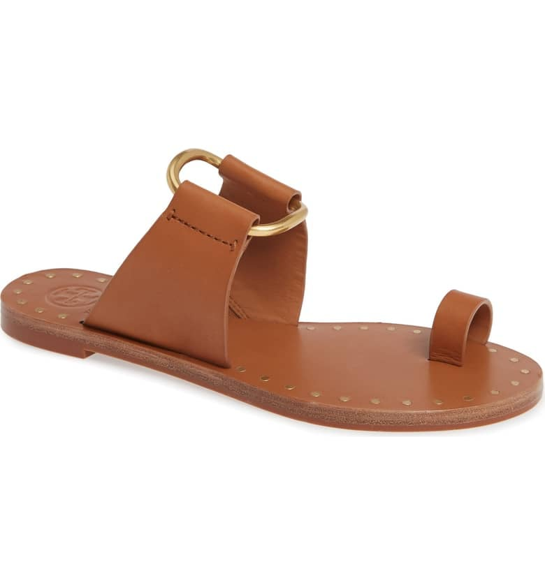 f943aa3f9db Tory Burch Ravello Toe Ring Sandal