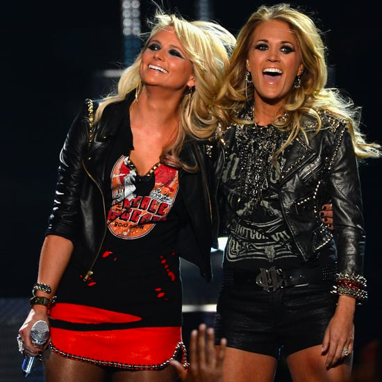 Miranda Lambert and Carrie Underwood at Billboard Awards