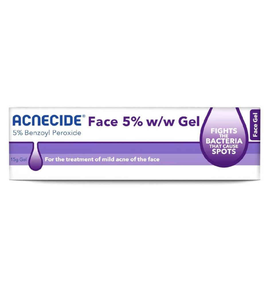 Acnecide Face Gel Spot Treatment Benzoyl Peroxide