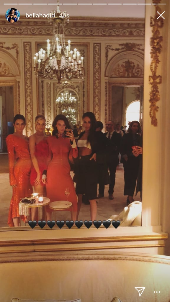 Bella Posted a Lavish-Looking Mirror Selfie of the Group