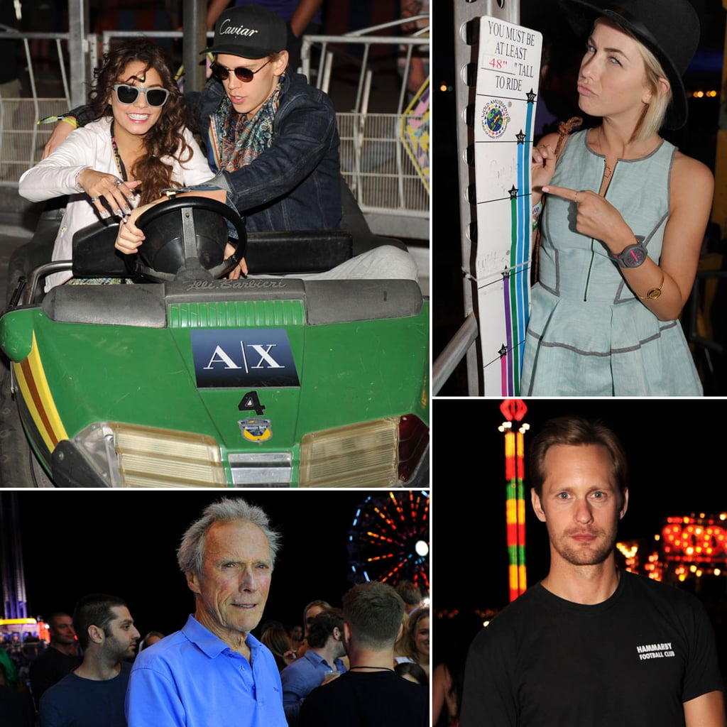 Celebrities at the Coachella Neon Carnival 2013 | Pictures