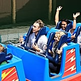 Kristen and Dax visited Disney California Adventure Park in April 2008.