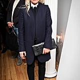 Kate Young looked sleek in her dark separates at The Line's New York event.