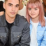 Maisie Williams and Reuben Selby Cute Pictures