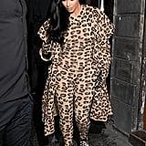 Kim Kardashian Leopard Outfit