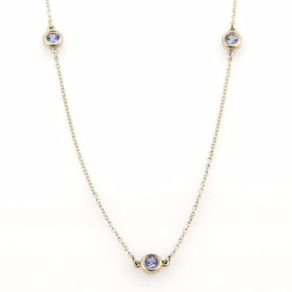 Our Pick: Tiffany & Co. Elsa Peretti Tanzanite By The Yard Sterling Silver Necklace
