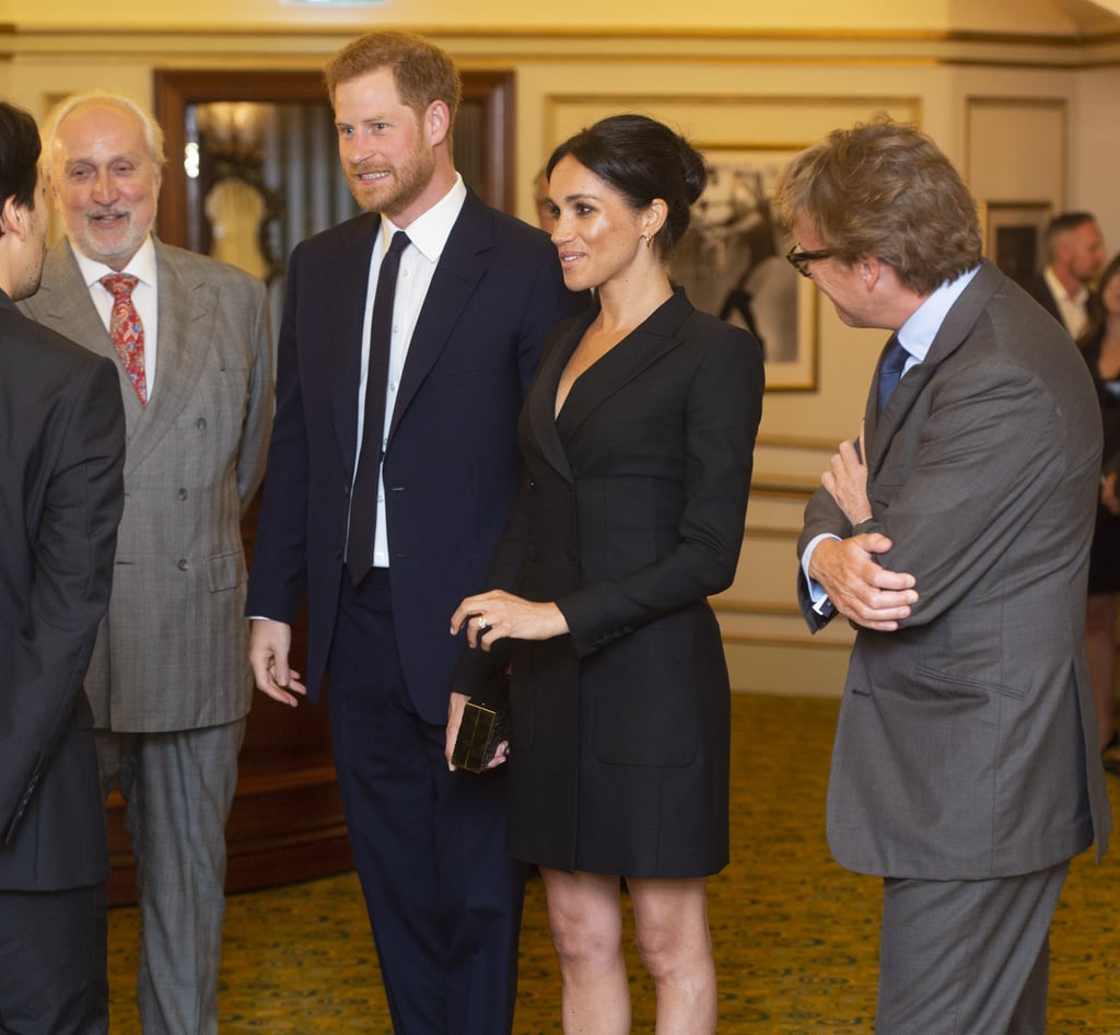 Prince Harry And Meghan Markle At Hamilton Gala August