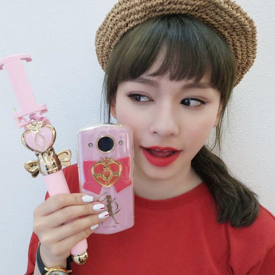 Meitu Sailor Moon Phone and Selfie Stick