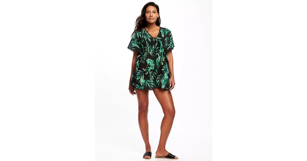 f0556b9158ac1 Old Navy Printed Gauze Kaftan Cover-Up for Women