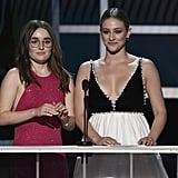 Camila Mendes and Lili Reinhart at the SAG Awards 2020