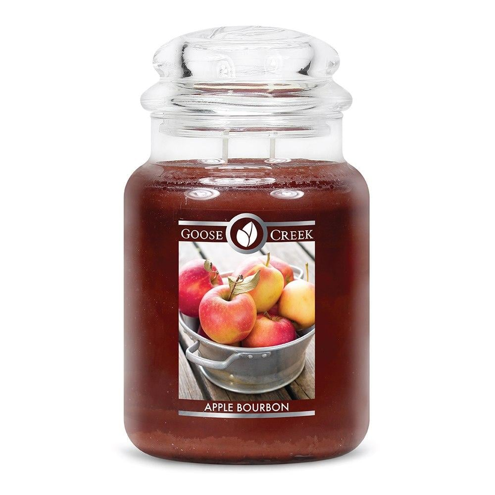 Goose Creek Apple Bourbon Large Jar Candle