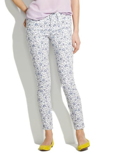 Madewell skinny ankle floral jeans ($135)