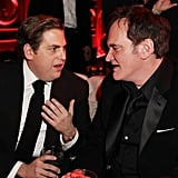 Jonah Hill and Quentin Tarantino