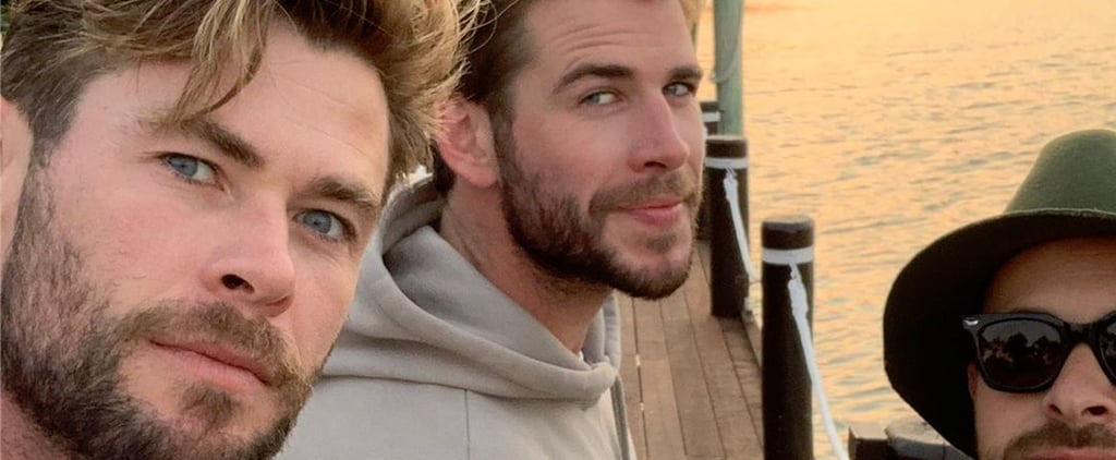 Liam Hemsworth Holidays With His Family in Australia