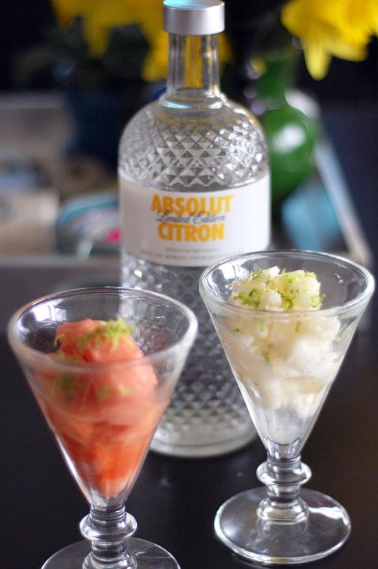 Sorbet with vodka and lime zest popsugar food forumfinder Gallery