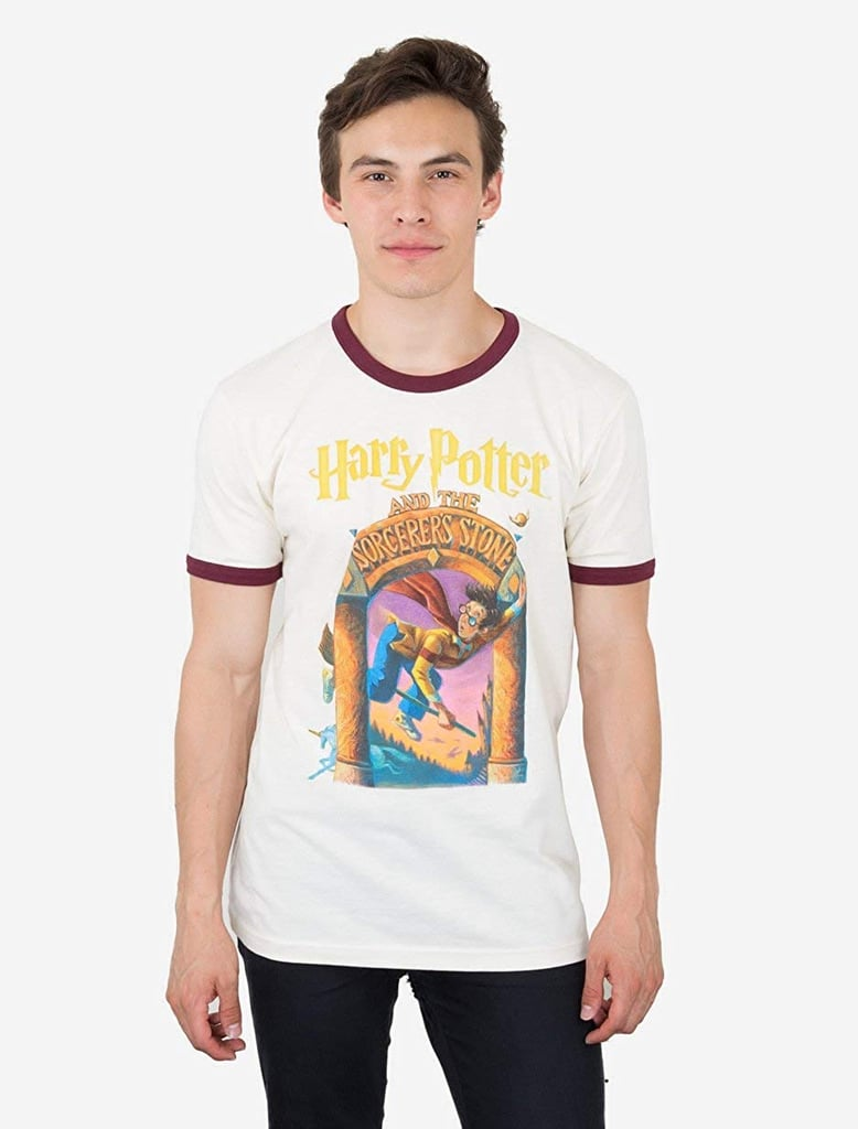 Out of Print Harry Potter Series Book-Themed T-Shirt