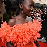 Lupita Nyong'o Proves the More Color the Better With Her Rainbow Eye Shadow