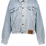 Old School Music Oversized Denim Jacket ($52)