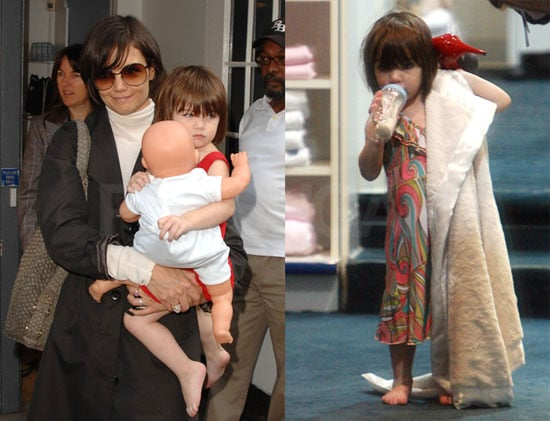 Photos of Suri Cruise With Katie Holmes in NYC