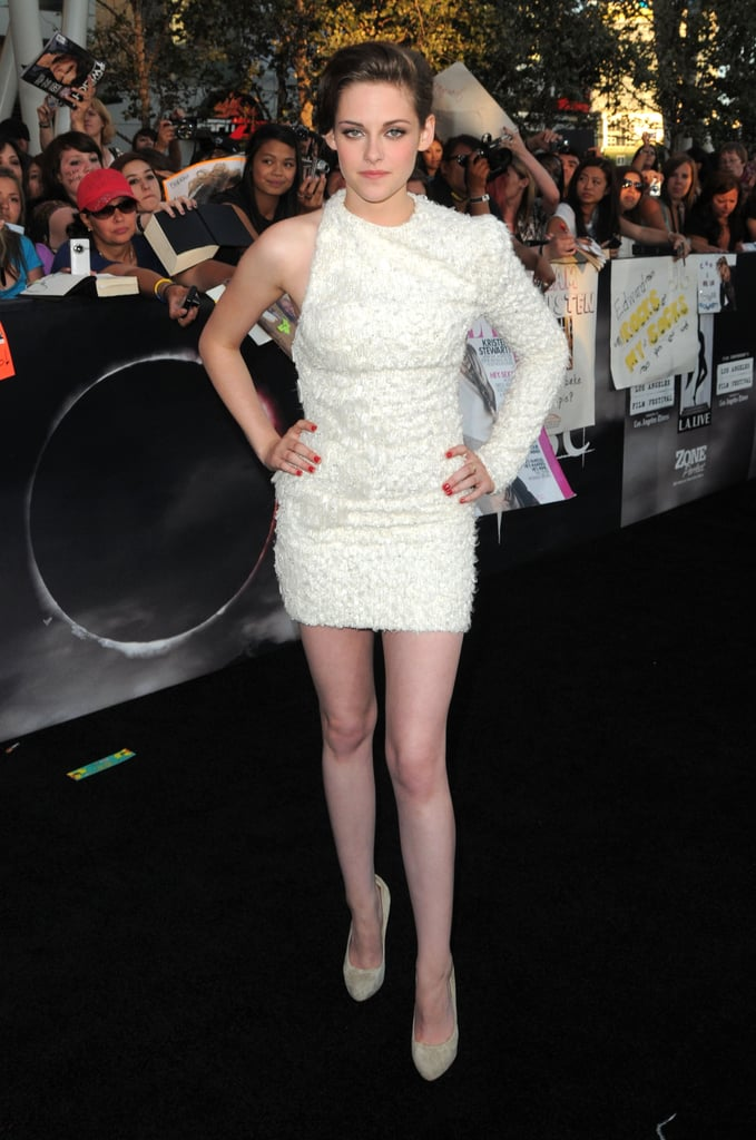 Statement-white Elie Saab for the LA premiere of Eclipse in June 2010.