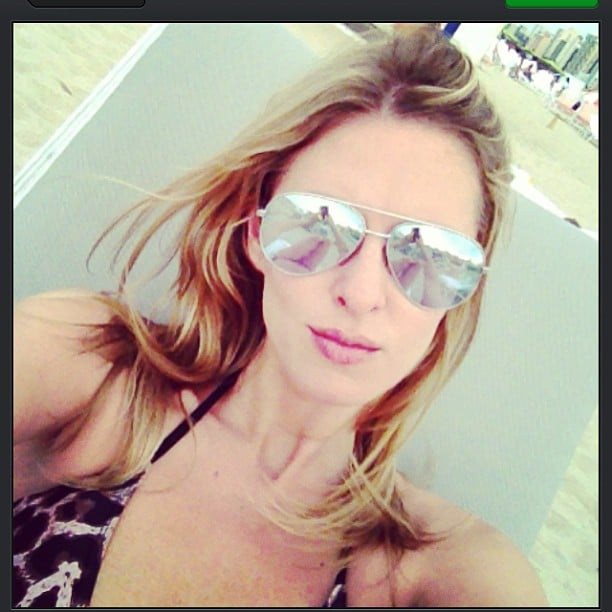 Nicky Hilton hit the beach in Miami. Source: Twitter user NickyHilton