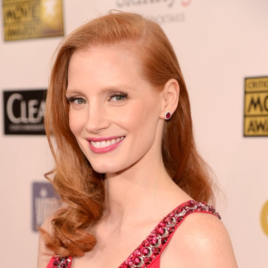 Jessica Chastain's Hair and Makeup | Critics' Choice Awards