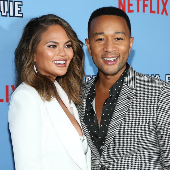 John Legend Flew Home to Watch TV With Chrissy Teigen