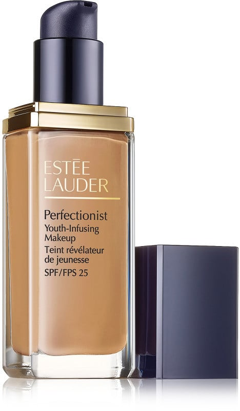 Estée Lauder Perfectionist Youth-Infusing Makeup SPF 25 ($47) comes in 15 shades.