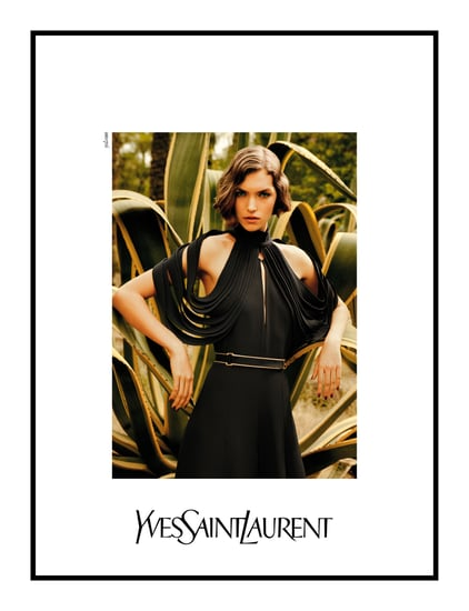 Photo of Arizona Muse for Yves Saint Laurent Spring 2011 Ad Campaign