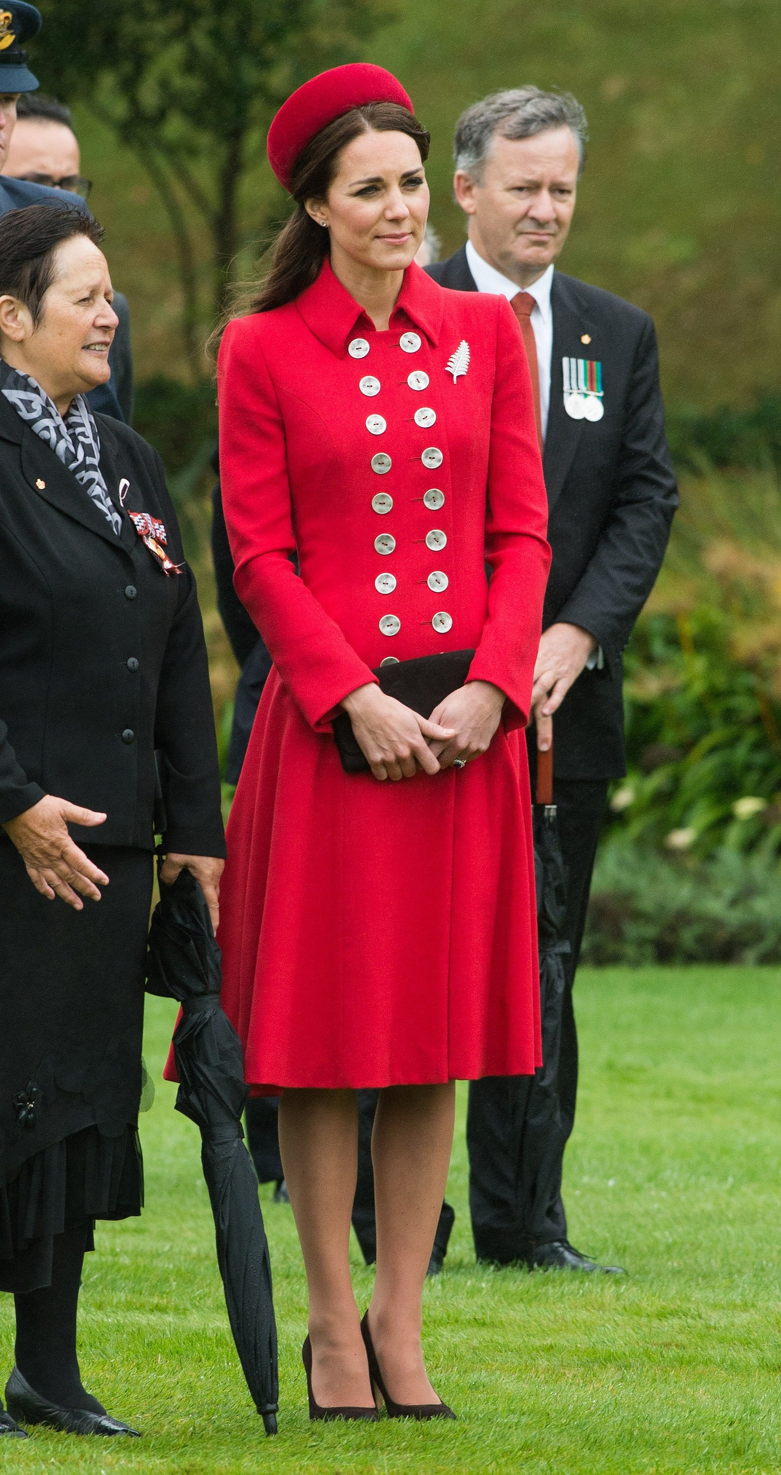 Kate Middleton at New Zealand's Government House